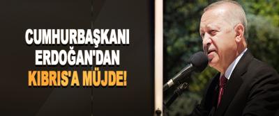 Cumhurbaşkanı Erdoğan'dan Kıbrıs'a Müjde!