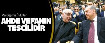 Cumhurbaşkanı Erdoğan, Verdiğimiz Ödüller Ahde Vefanın Tescilidir