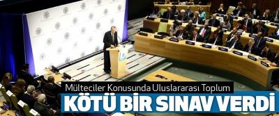 Cumhurbaşkanı Erdoğan: Mülteciler Konusunda Uluslararası Toplum Kötü Bir Sınav Verdi