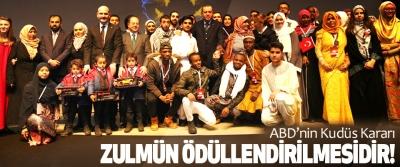 Cumhurbaşkanı Erdoğan, ABD'nin Kudüs Kararı Zulmün Ödüllendirilmesidir!