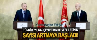 Cumhurbaşkanı Erdoğan, Türkiye'ye Karşı Yaptırım Heveslilerinin Sayısı Artmaya Başladı!