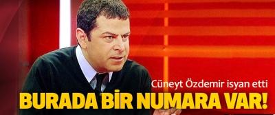 Cüneyt Özdemir, Burada Bir Numara Var Deyip Böyle İsyan Etti!