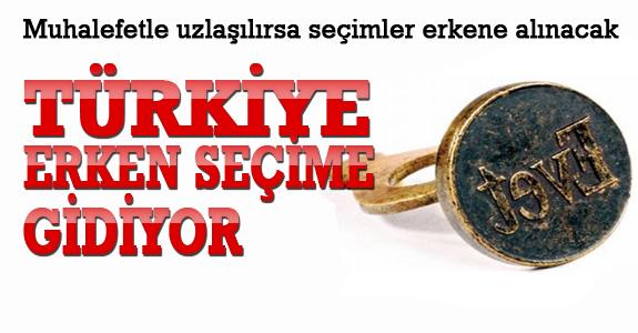 Erdoğan onay verdi, Türkiye erken seçime gidiyor !