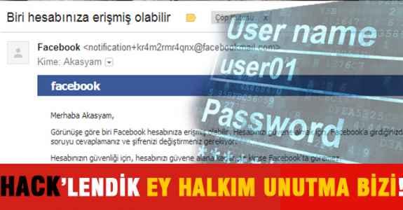 HACK'LENDİK EY HALKIM UNUTMA BİZİ!