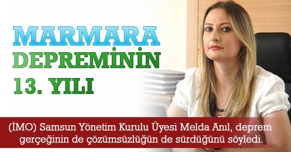 Marmara Depreminin 13. Yılı