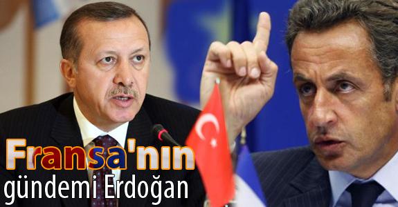 Fransa'nın gündemi Erdoğan