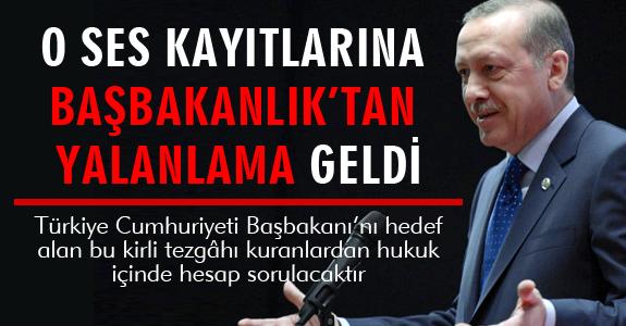 BAŞBAKANLIK'TAN YALANLAMA GELDİ