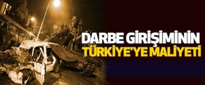 Darbe Girişiminin Türkiye'ye Maliyeti