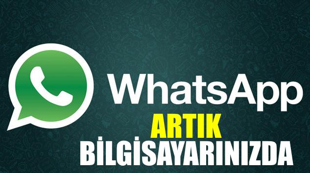 Whatsapp Web ile Bilgisayardan Whatsapp
