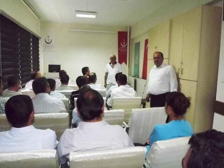 Kavak Devlet Hastanesi çalışanlarına KKKA semineri
