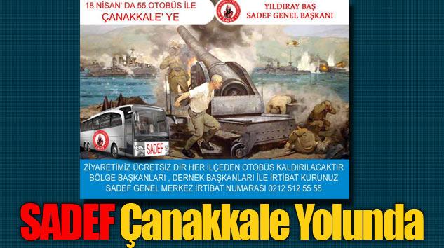 SADEF 55 Otobüsle Çanakkale Yolunda
