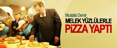 Demir, Melek Yüzlülerle Pizza Yaptı
