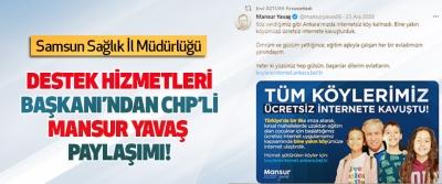 Destek Hizmetleri Başkanı'ndan CHP'li Mansur Yavaş Paylaşımı!