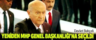 Devlet Bahçeli Yeniden MHP Genel Başkanlığı'na Seçildi