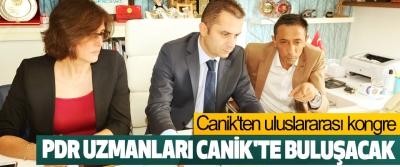 Canik'ten uluslararası kongre, PDR Uzmanları Canik'te Buluşacak