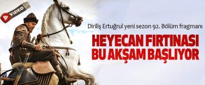 Diriliş Ertuğrul yeni sezon ilk bölümü ile bu akşam TRT 1'de!