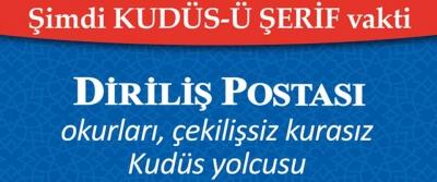 Diriliş Postası Okurları Kudüs'e gidiyor!