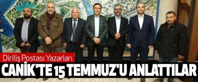 Diriliş Postası Yazarları  Canik'te 15 Temmuz'u Anlattı