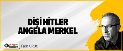 Dişi Hitler Angela Merkel