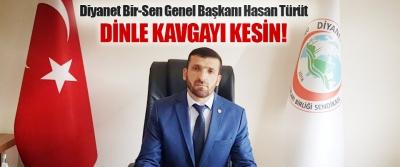 Diyanet Bir-Sen Genel Başkanı Hasan Türüt