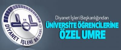 Diyanet İşleri Başkanlığından Üniversite Öğrencilerine Özel Umre