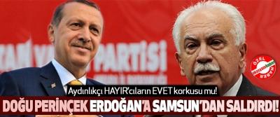 Doğu Perinçek Erdoğan'a Samsun'dan saldırdı!