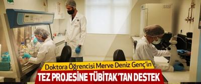 Doktora Öğrencisi Merve Deniz Genç'in Tez Projesine Tübitak'tan Destek