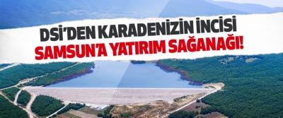 DSİ'den Karadenizin İncisi Samsun'a Yatırım Sağanağı!