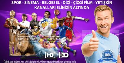 Dünya markası iptv sağlayıcısı artık Türkiye'de