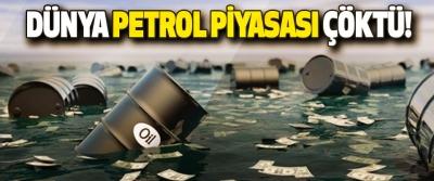 Dünya Petrol Piyasası Çöktü!