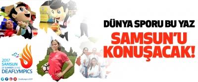 Dünya Sporu Bu Yaz Samsun'u Konuşacak!