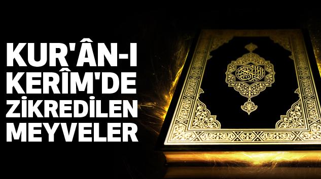 Kur'ân-I Kerîm'de Zikredilen Meyveler...