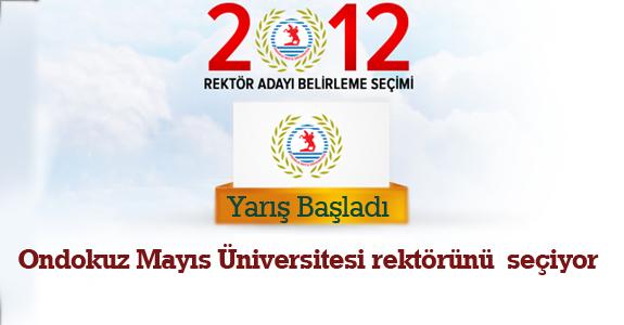 Ondokuz Mayıs Üniversitesi rektörünü bugün seçiyor.