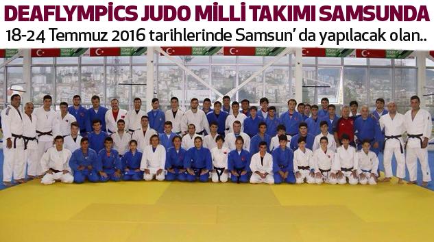 Deaflympics Judo Milli Takımı Samsunda...