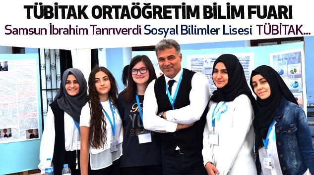 Samsun Sosyal Bilimler Lisesi  Tübitak Ortaöğretim Bilim Fuarı...
