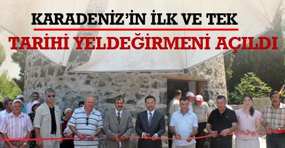 Karadeniz'in İlk Ve Tek Tarihi Yeldeğirmeni Açıldı