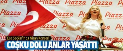 Ece Seçkin'in 23 Nisan Konseri Coşku Dolu Anlar Yaşattı