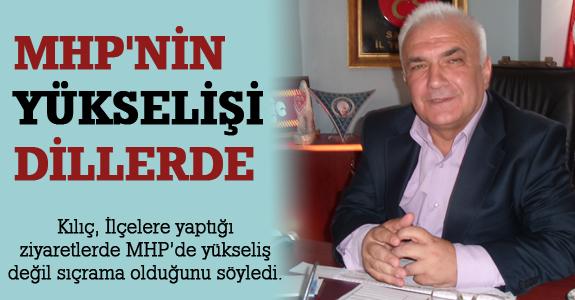 MHP İl Başkanı Şaban Kılıç,'Mhp'nin Yükselişi Dillerde'