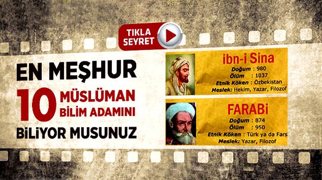 En Meşhur 10 Müslüman Bilim Adamını Biliyor Musunuz?