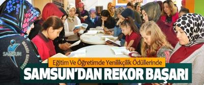 Eğitim Ve Öğretimde Yenilikçilik Ödüllerinde Samsun'dan Rekor Başarı
