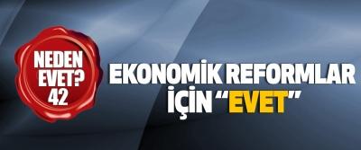 """Ekonomik reformlar için """"evet"""""""