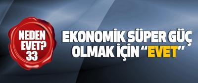 """Ekonomik süper güç olmak için """"evet"""""""
