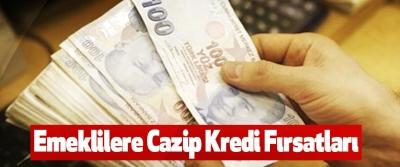 Emeklilere Cazip Kredi Fırsatları