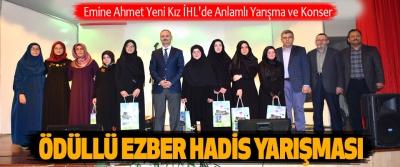 Emine Ahmet Yeni Kız İHL'de Anlamlı Yarışma ve Konser