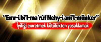 Emr-i bi'l-ma'rûf Nehy-i ani'l-münker
