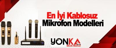 En İyi Kablosuz Mikrofon Modelleri