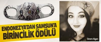 Endonezya'dan Samsun'a Birincilik Ödülü