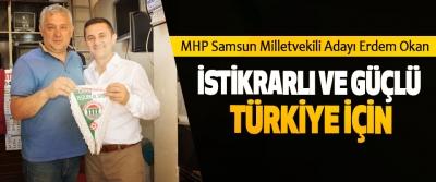 Erdem Okan: İstikrarlı Ve Güçlü Türkiye İçin