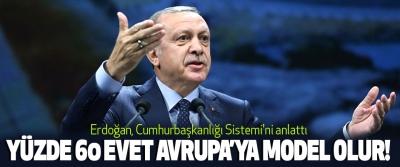 Erdoğan, Cumhurbaşkanlığı Sistemi'ni anlattı