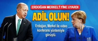Erdoğan Merkel'i Yine Uyardı